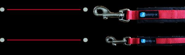 Messanleitung für AnnyX Führleine